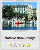Geneva airport taxi to Hotel Beau-Rivage